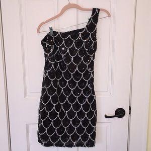 FINAL⚠️ Sequin one shoulder dress